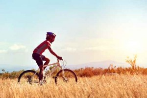healthy lifestyle cycling